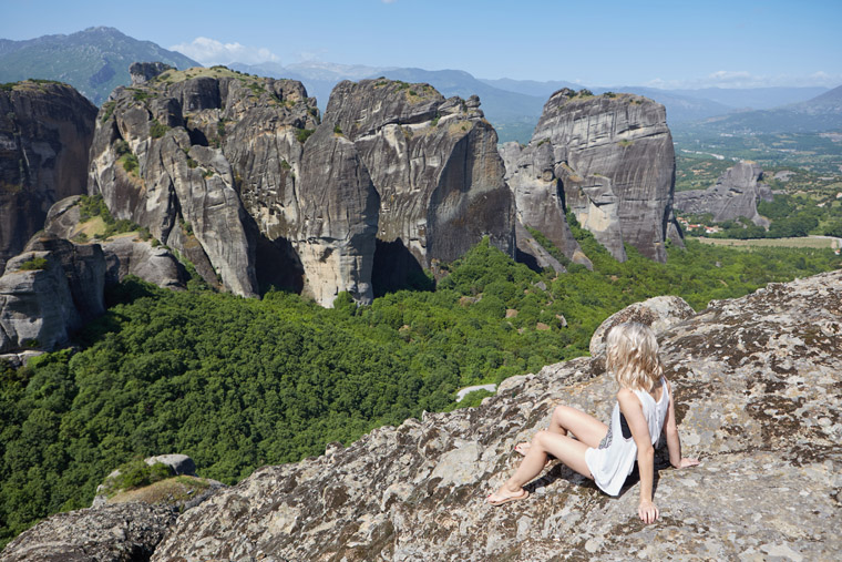 Rock formations in meteora greece a top 2016 travel destination via finduslost