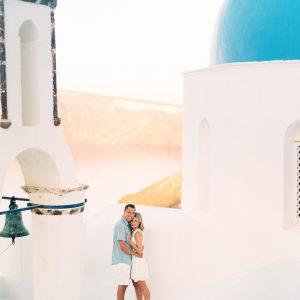 Santorini Engagement Shoot Finduslost Selena Jacob Greek Island