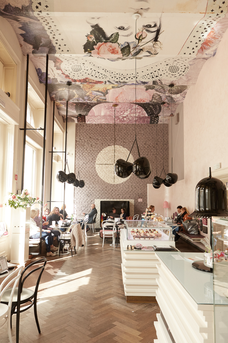 Interior design of Lolita in Ljubljana Slovenia