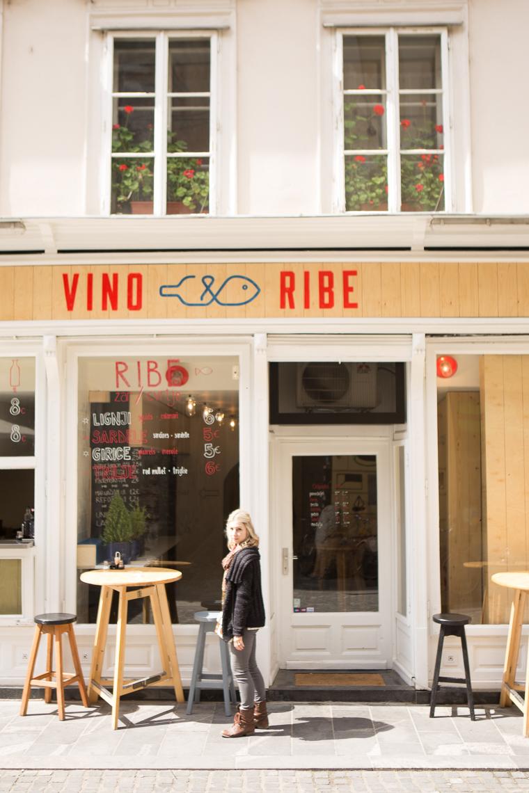 Cute Restaurant in downtown ljubljana slovenia
