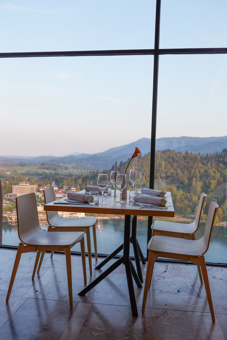 Dinner at Blejski Grad Castle Slovenia Lake Bled