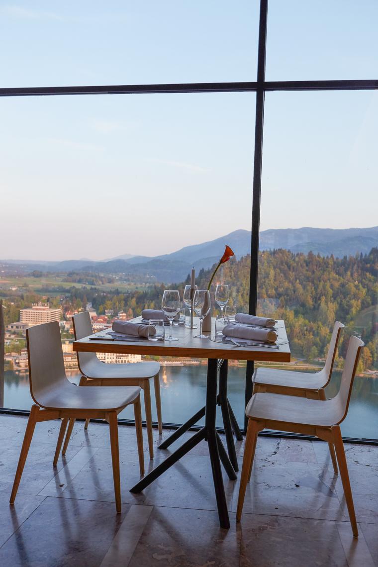 Dinner at Blejski Grad Castle Slovenia Lake Bled