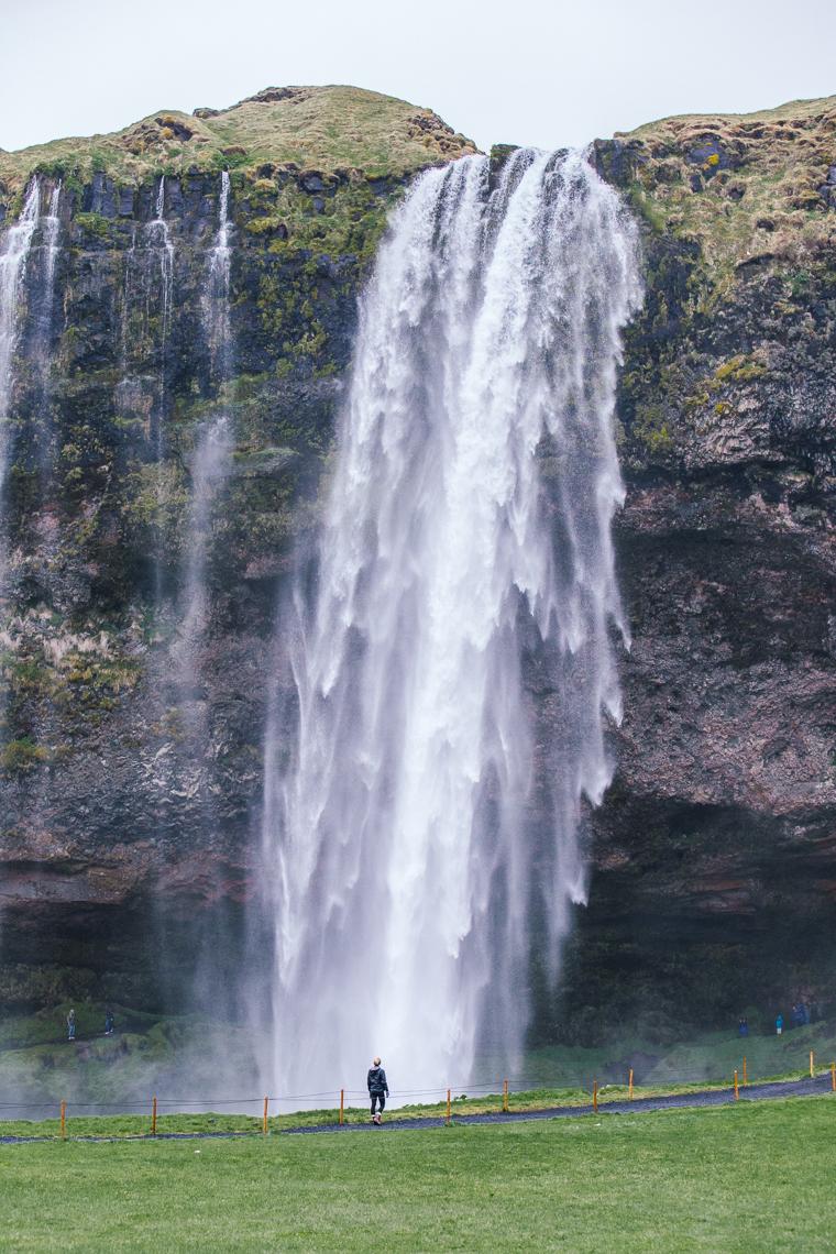 Seljalandsfoss Waterfall in Iceland via finduslost