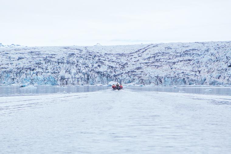 Jökulsárlón Glacier Lagoon in Iceland via finduslost