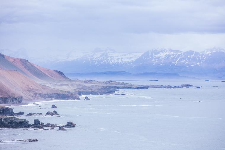 The coast en route to Egilsstaðir