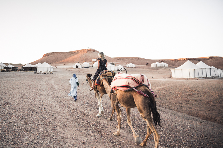 Camel Ride at Scarabeo Camp via @FindUsLost