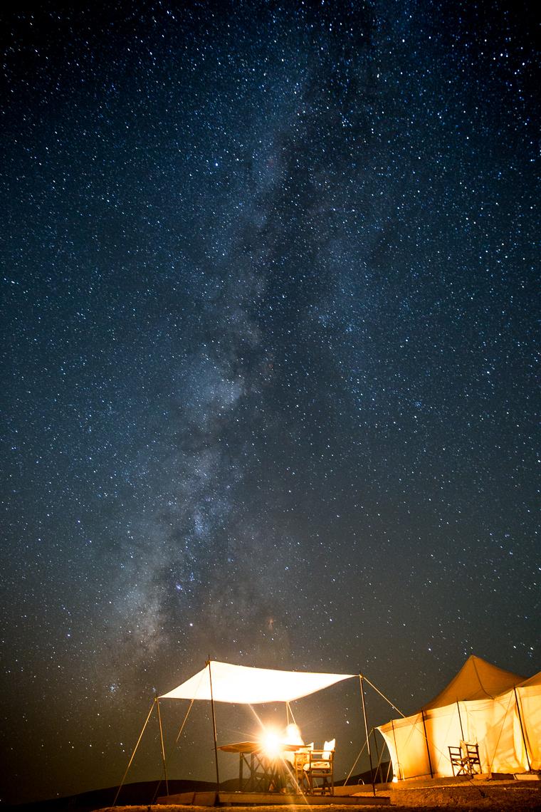 Stars in the desert near morocco vai @FindUsLost