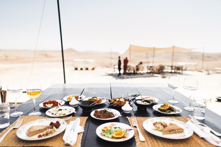 A delicious Moroccan lunch via @FindUsLost