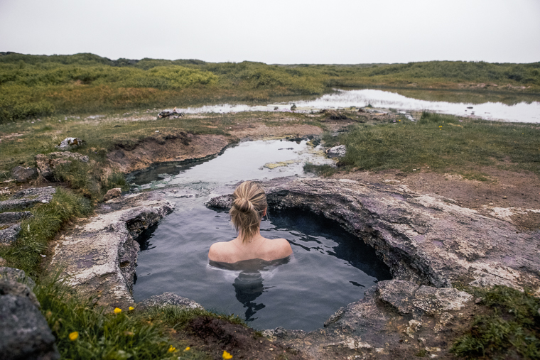 Landbrotalaug Hot Pot Snaefellsnes Iceland