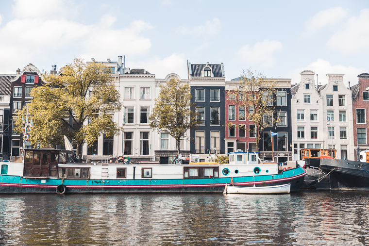 Amsterdam Canal Boat Ride Views