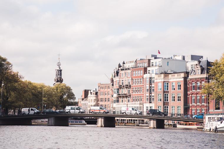 Amsterdam Canal Boat Ride Views of City Bridges