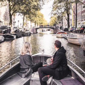 Couples Amsterdam Canal Boat Ride Finduslost