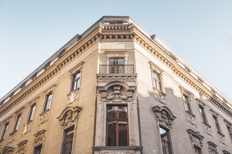 Exterior of Old Palace Hotel Palazzo Zichy