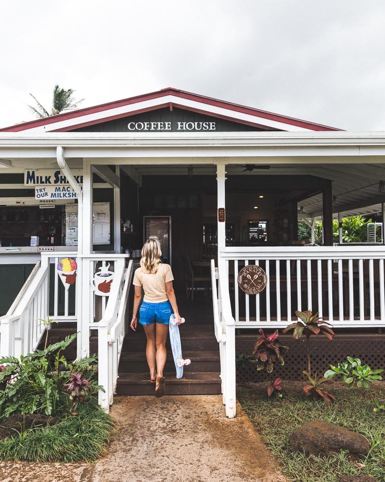 Hanalei Coffee Roasters Kauai Hawaii