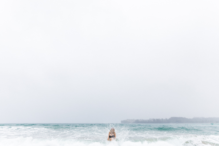 Waves on Hanalei Beach - Kauai Travel Guide via Find Us Lost