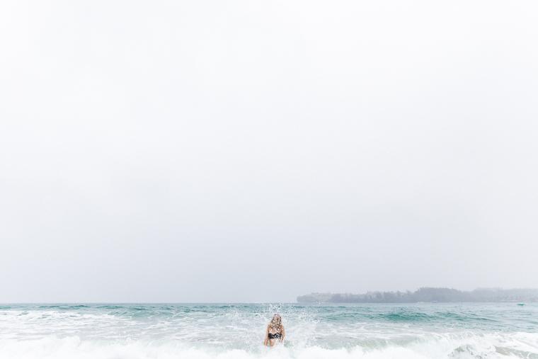 Waves on Hanalei Beach - Kauai Travel Guide via Find Us Lost