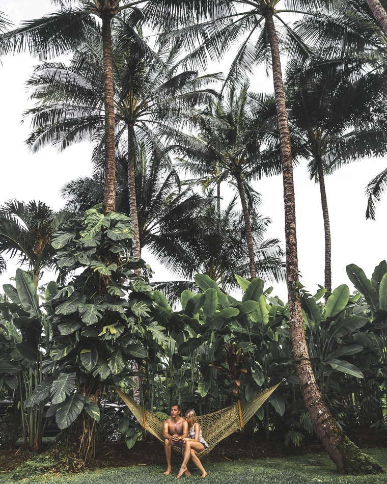Island Vibes in our Hawaiian Hammock - Kauai Travel Guide via Find Us Lost