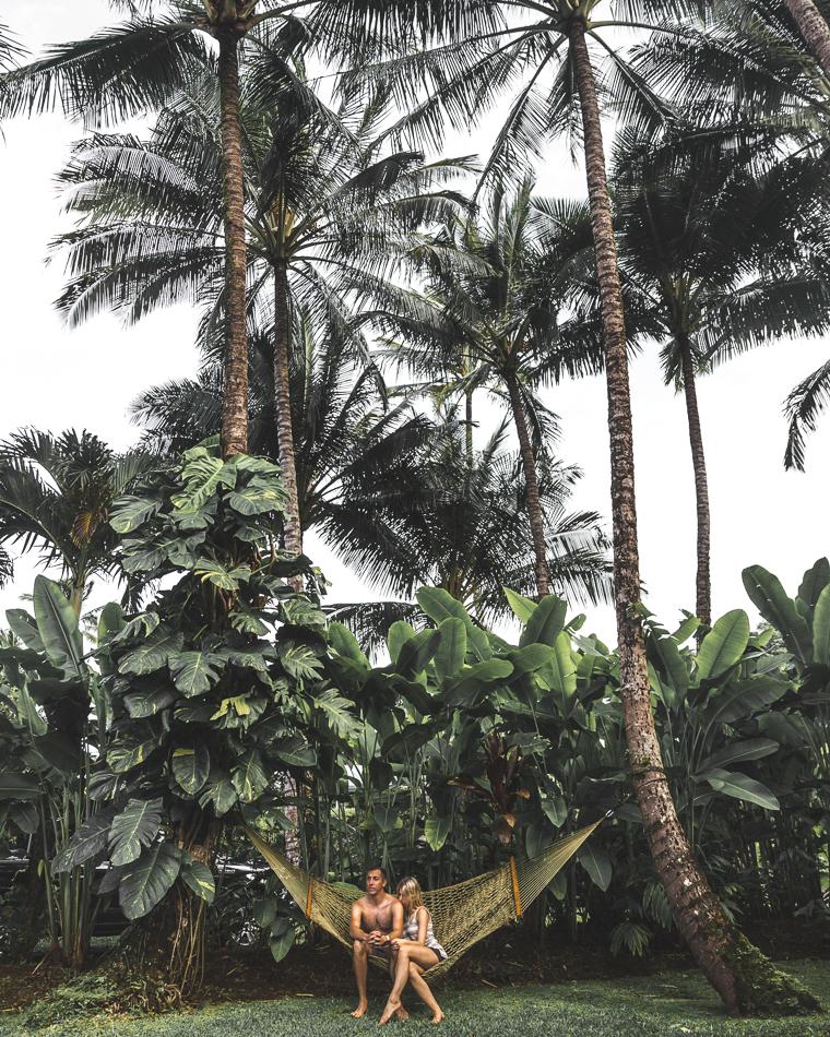 Island Vibes in our Hawaiian Hammock - Kauai Travel Guide via Find Us Lost