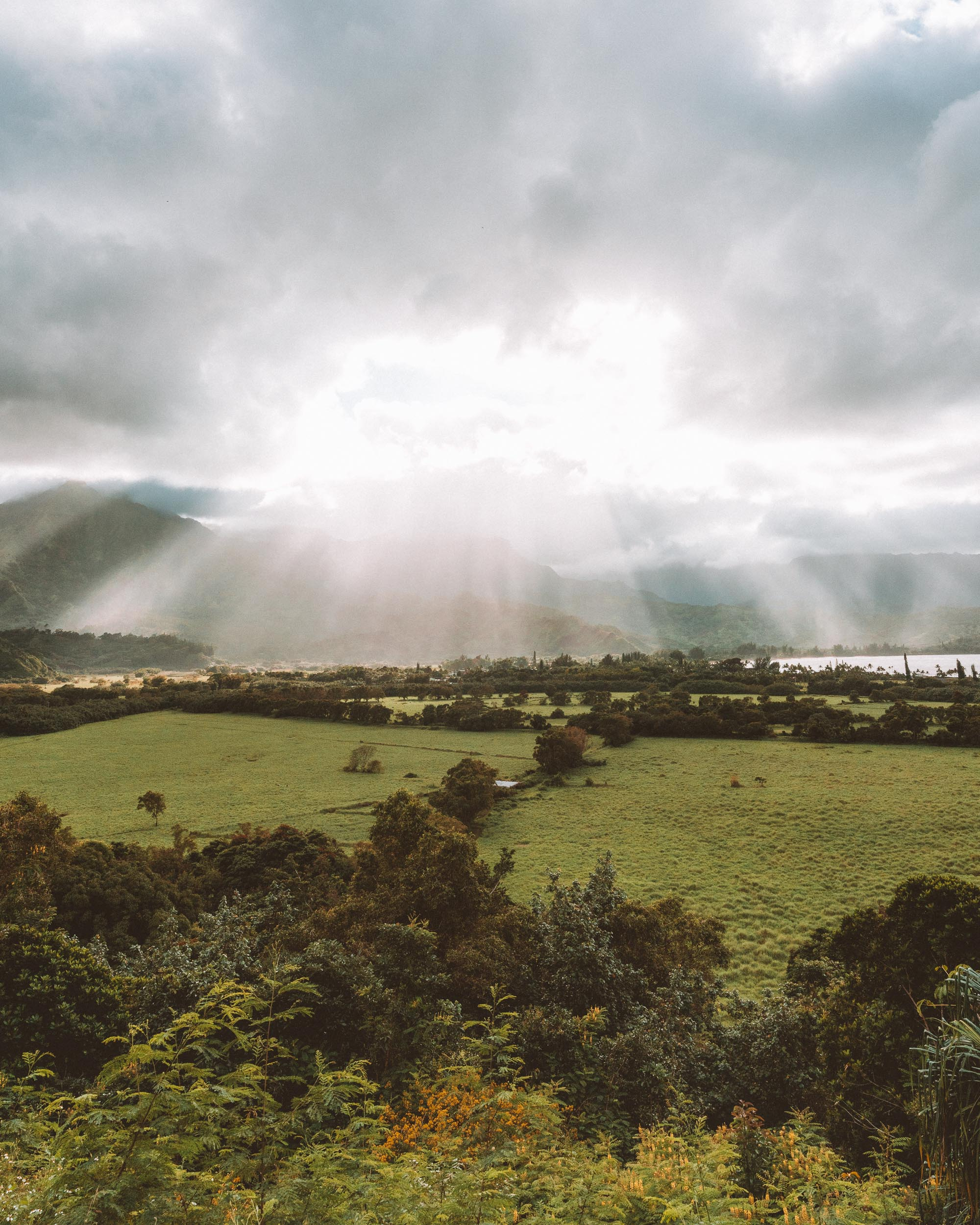Kauai's North Shore Lookout over Hanalei Bay via Find Us Lost
