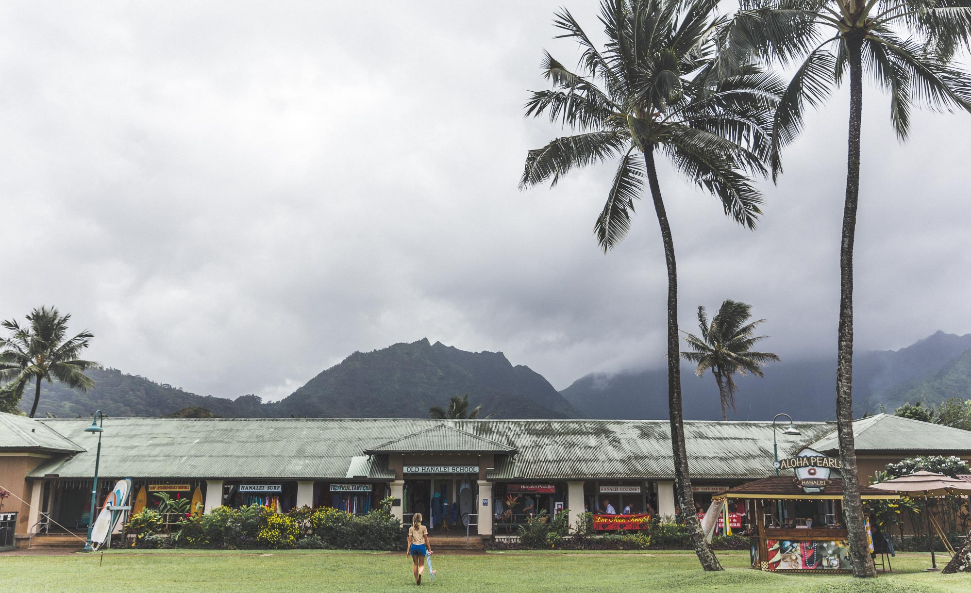 Downtown Hanalei Bay Kauai Hawaii Travel Guide via Find Us Lost