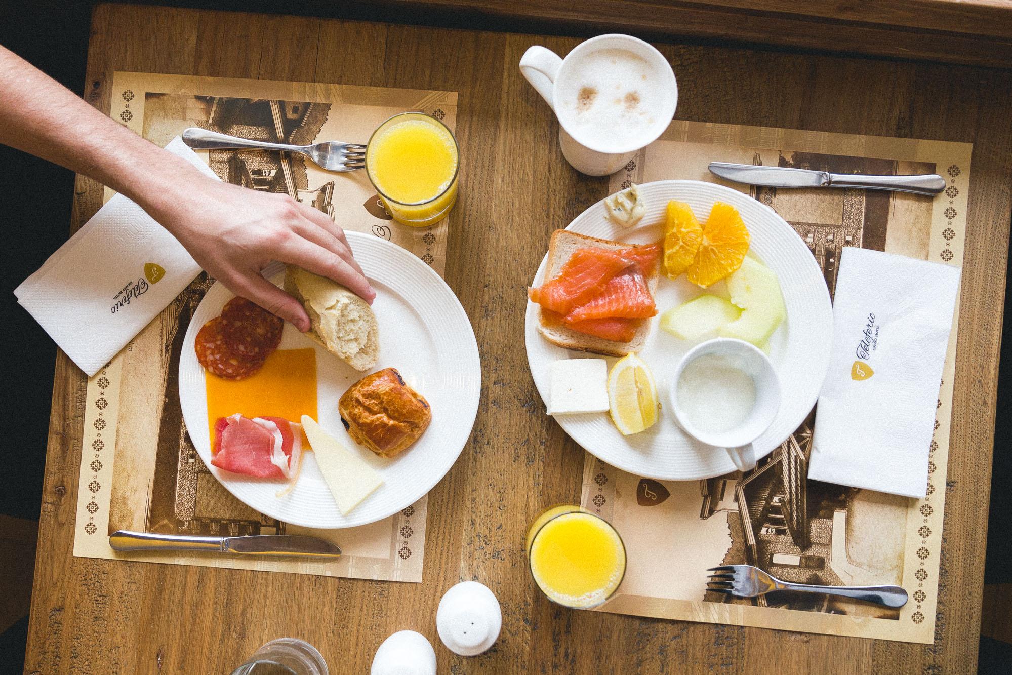 Breakfast in Romania via Find Us Lost
