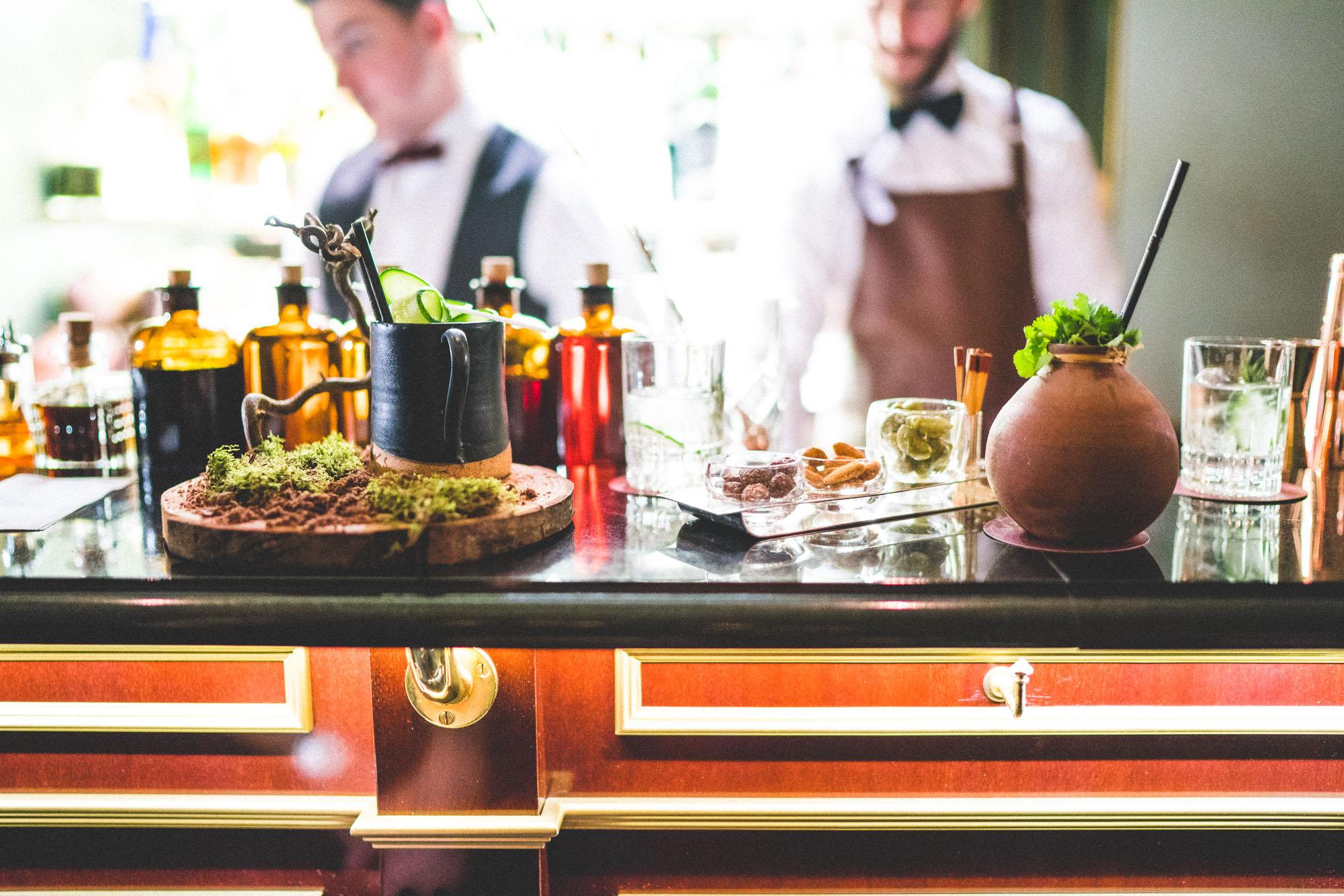 Trendy bars in Paris - Bar Botanist at the Shangri La Paris Hotel - Complete Paris Travel Guide