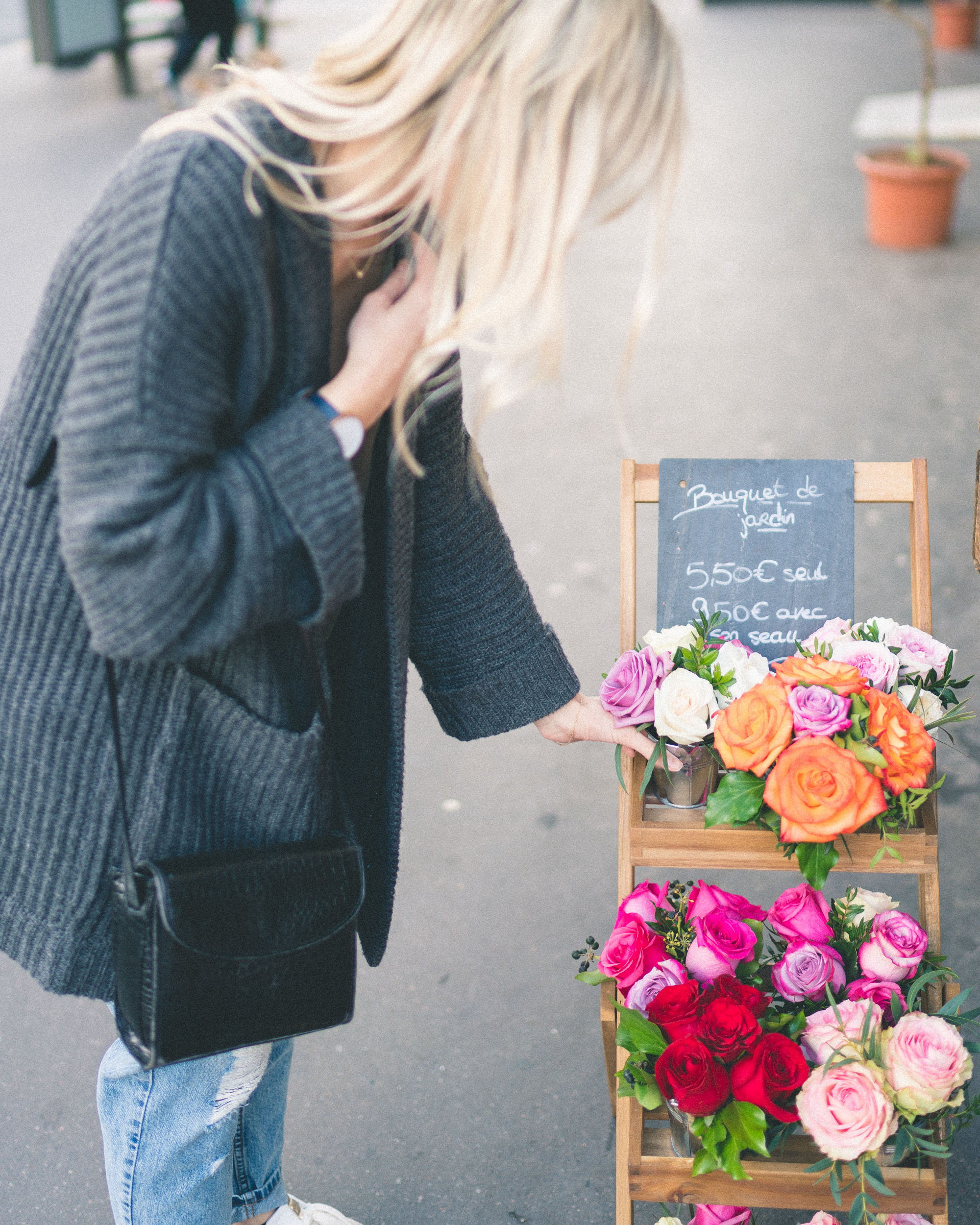 Shopping for flowers and roses in Paris - Complete Paris Travel Guide