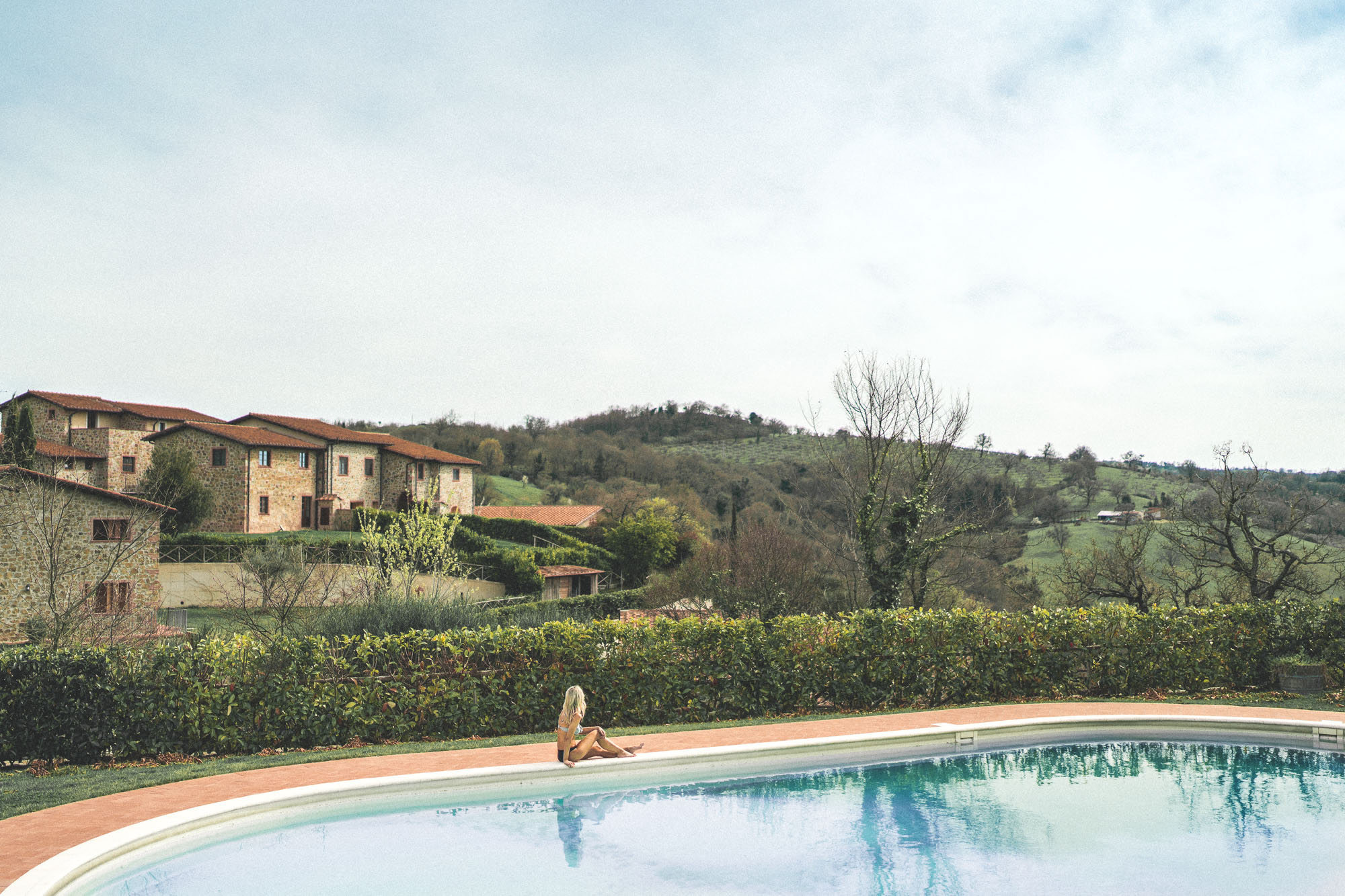 Borgo Case Bardi tuscan villa with a pool in southern Tuscany, Italy