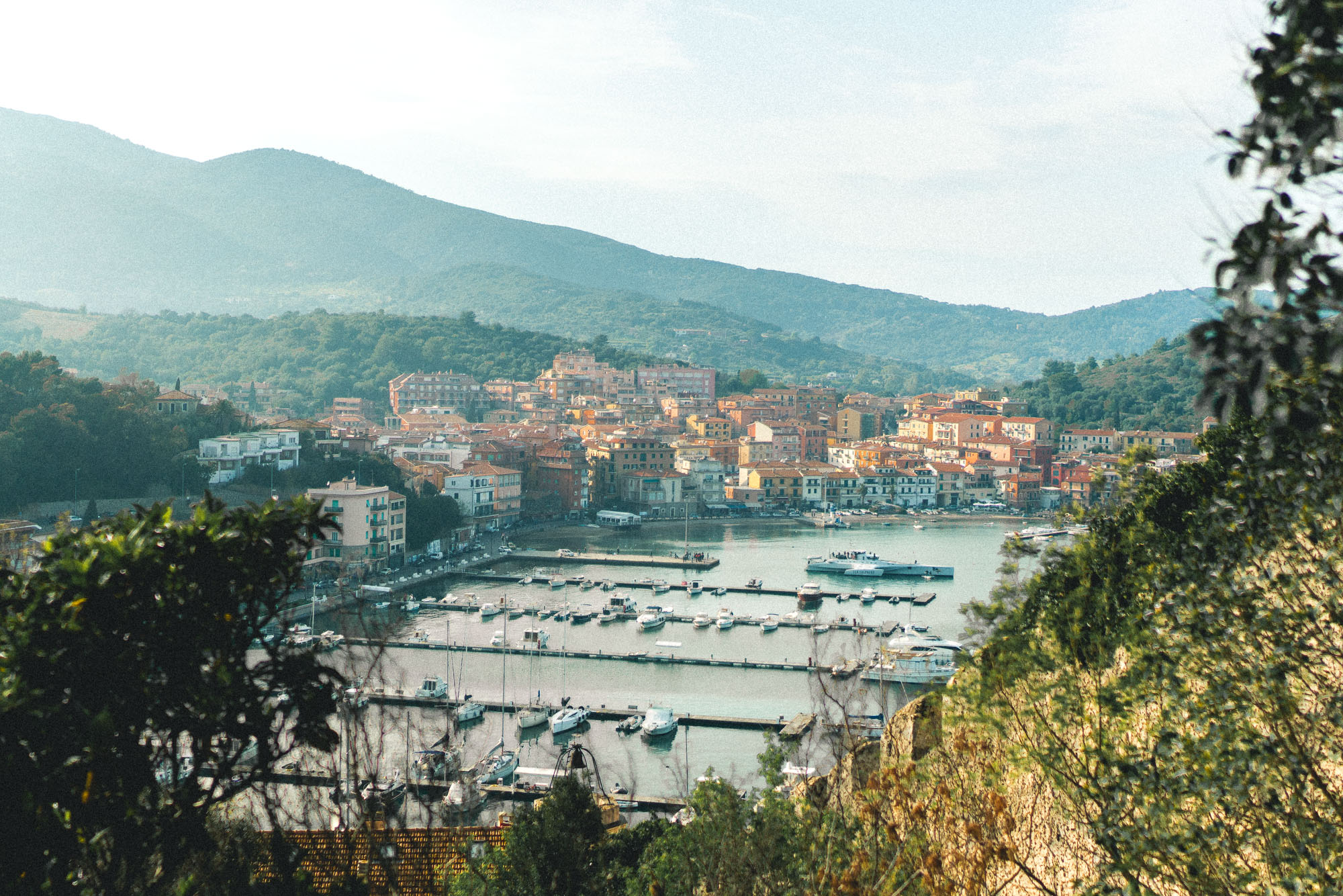 Porto Ercole seaside town, southern Tuscany, Italy