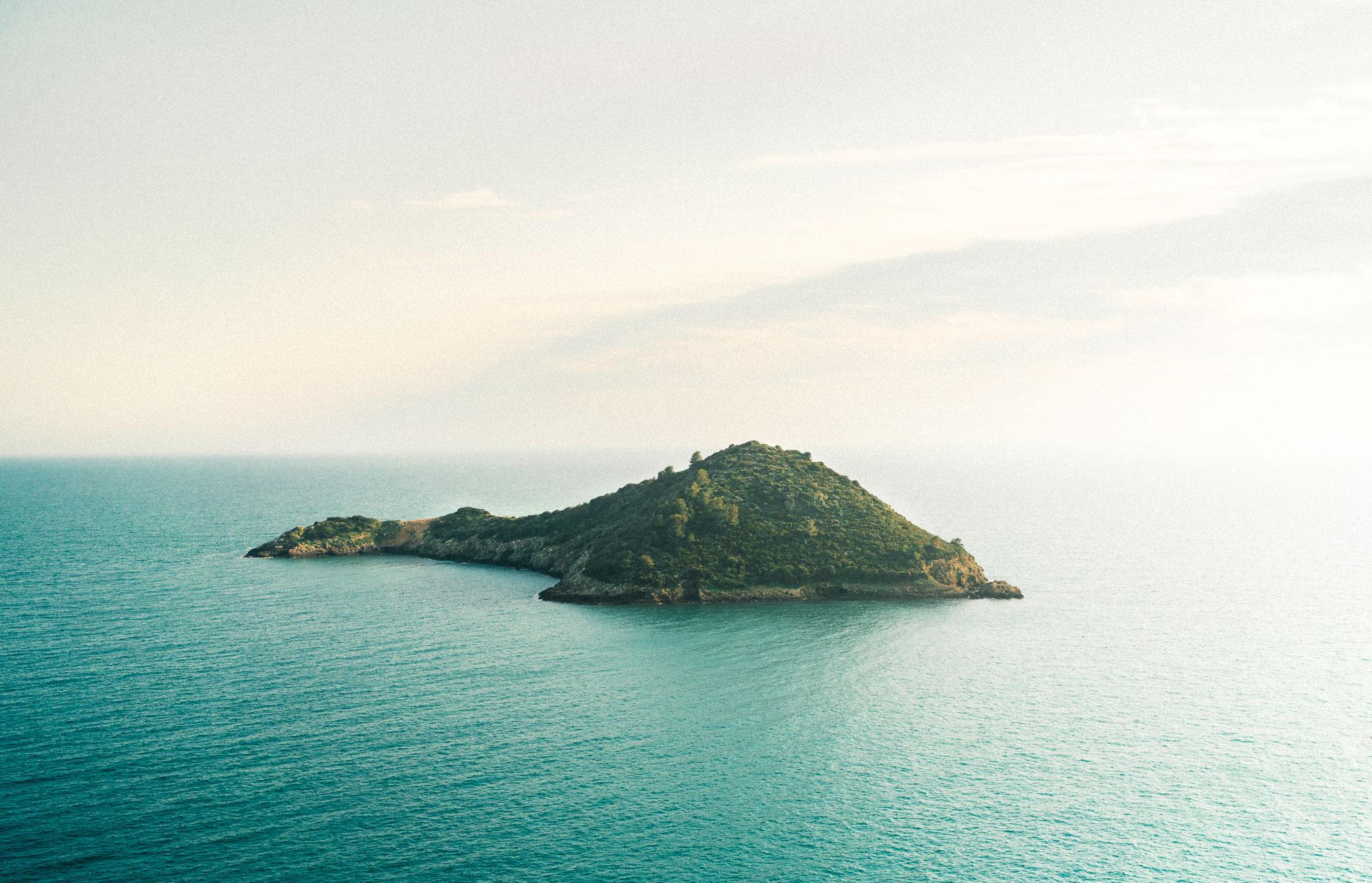 Islands off the coast of southern Tuscany, Italy near Porto Ercole