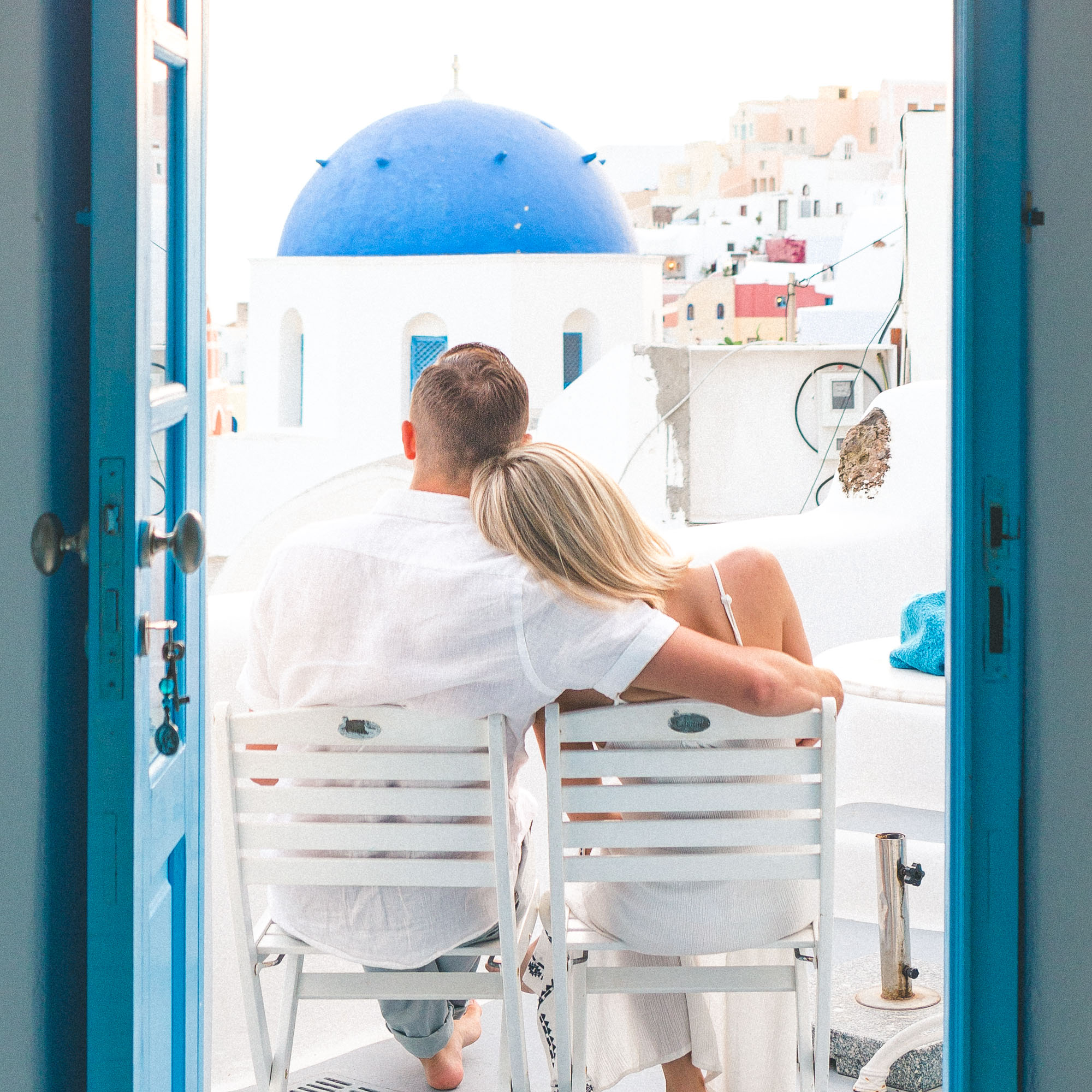 The most romantic Airbnb to stay in while visiting Oia, Santorini, Greece