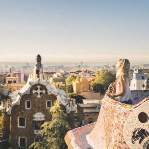 24 Hours in Barcelona Park Guell - Gaudi Architecture - Spain