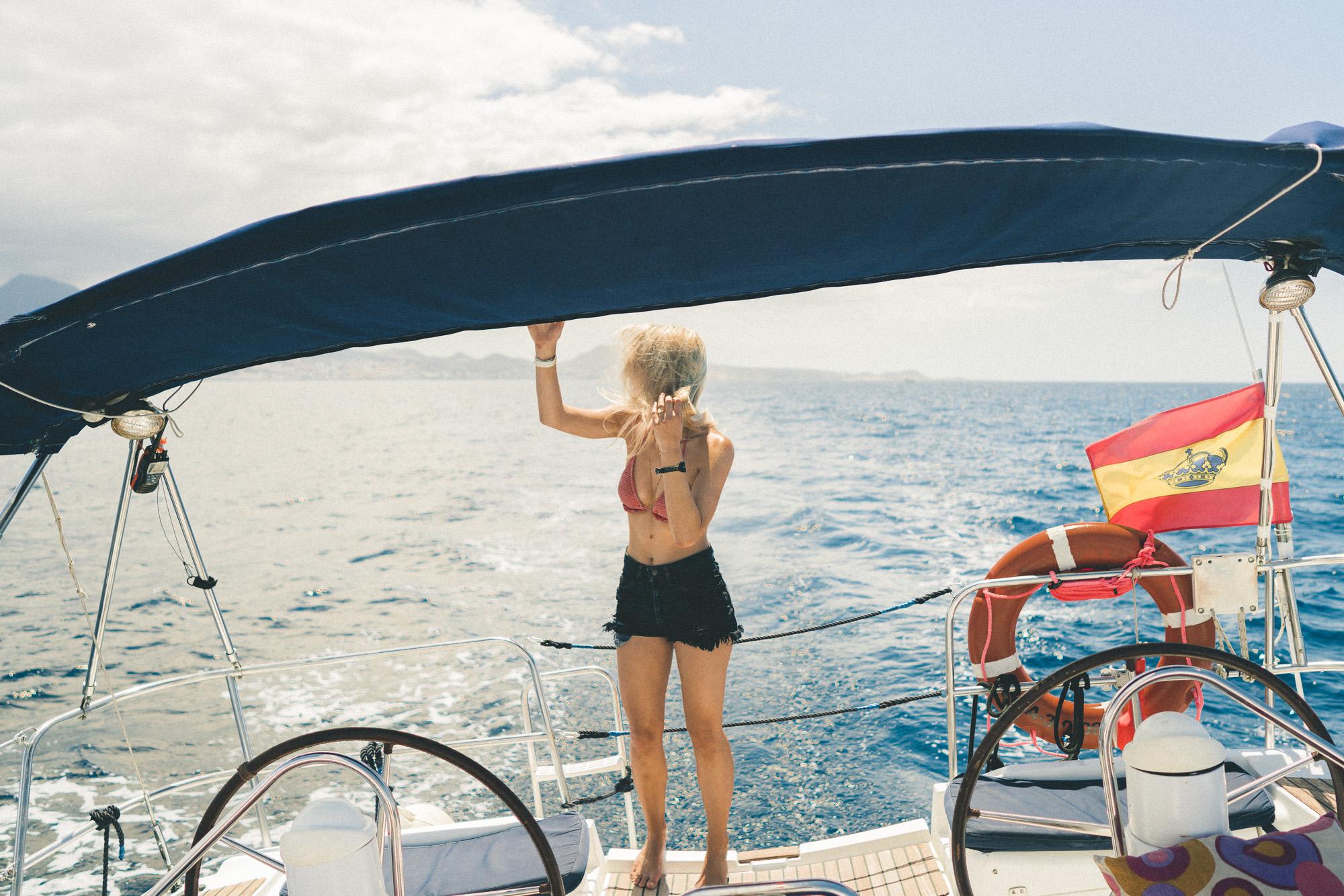 Boat Trip in Tenerife, Canary Islands, Spain