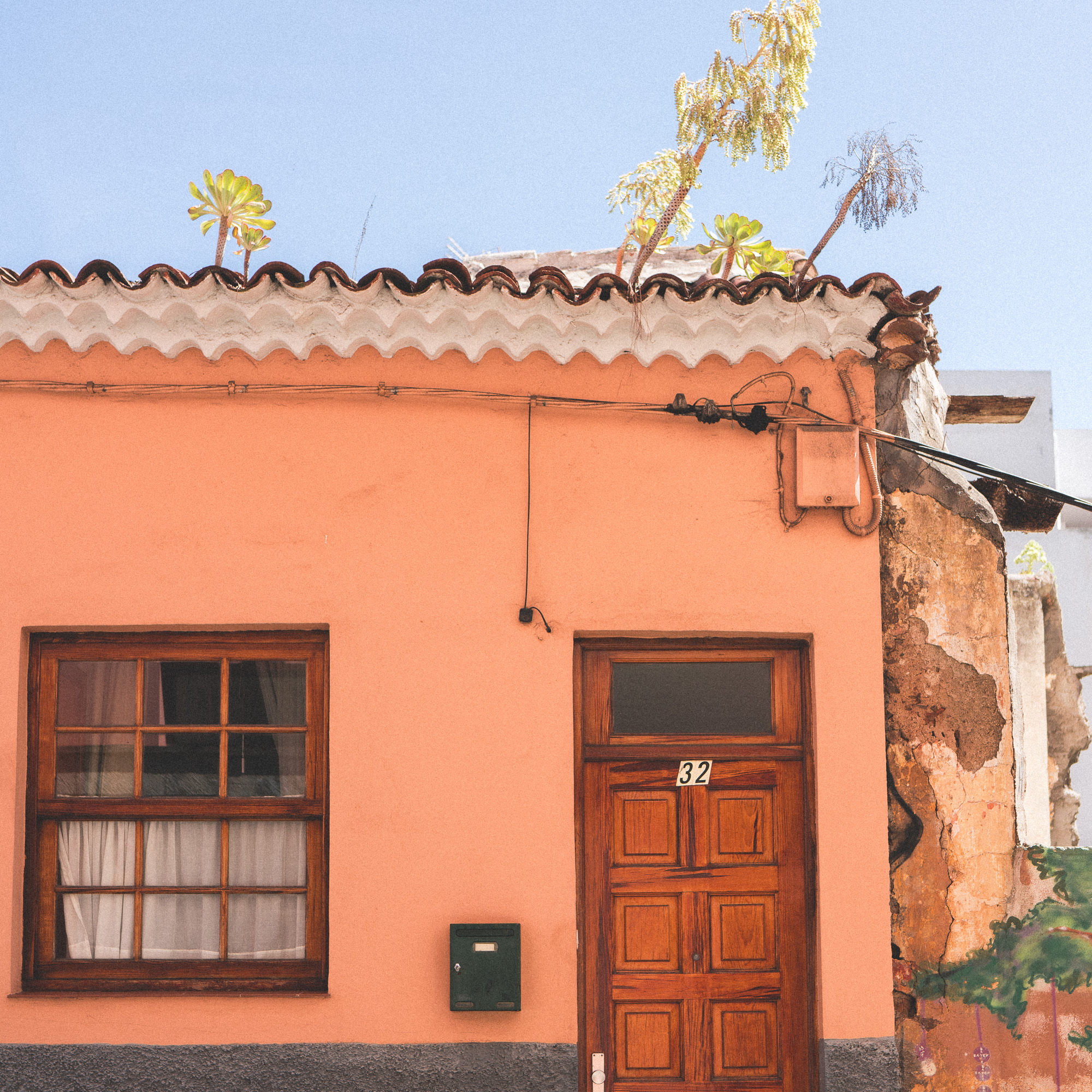 Historic Town San Cristobal De La Laguna in Tenerife, Canary Islands, Spain