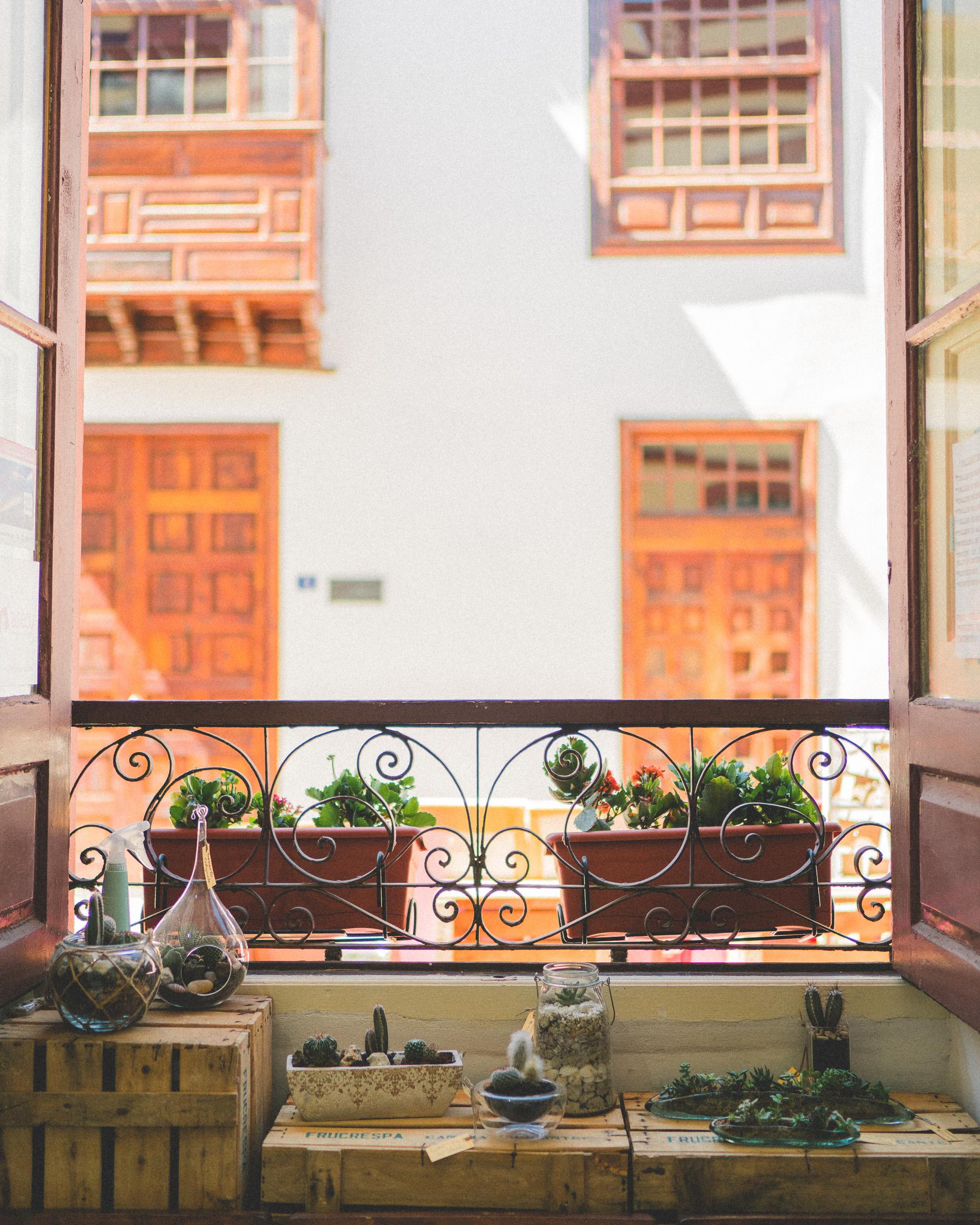 Historic Town San Cristobal De La Laguna in Tenerife, Canary Islands, Spain