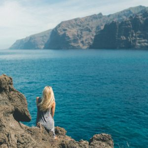 Los Gigantes cliffs in Tenerife, Canary Islands, Spain