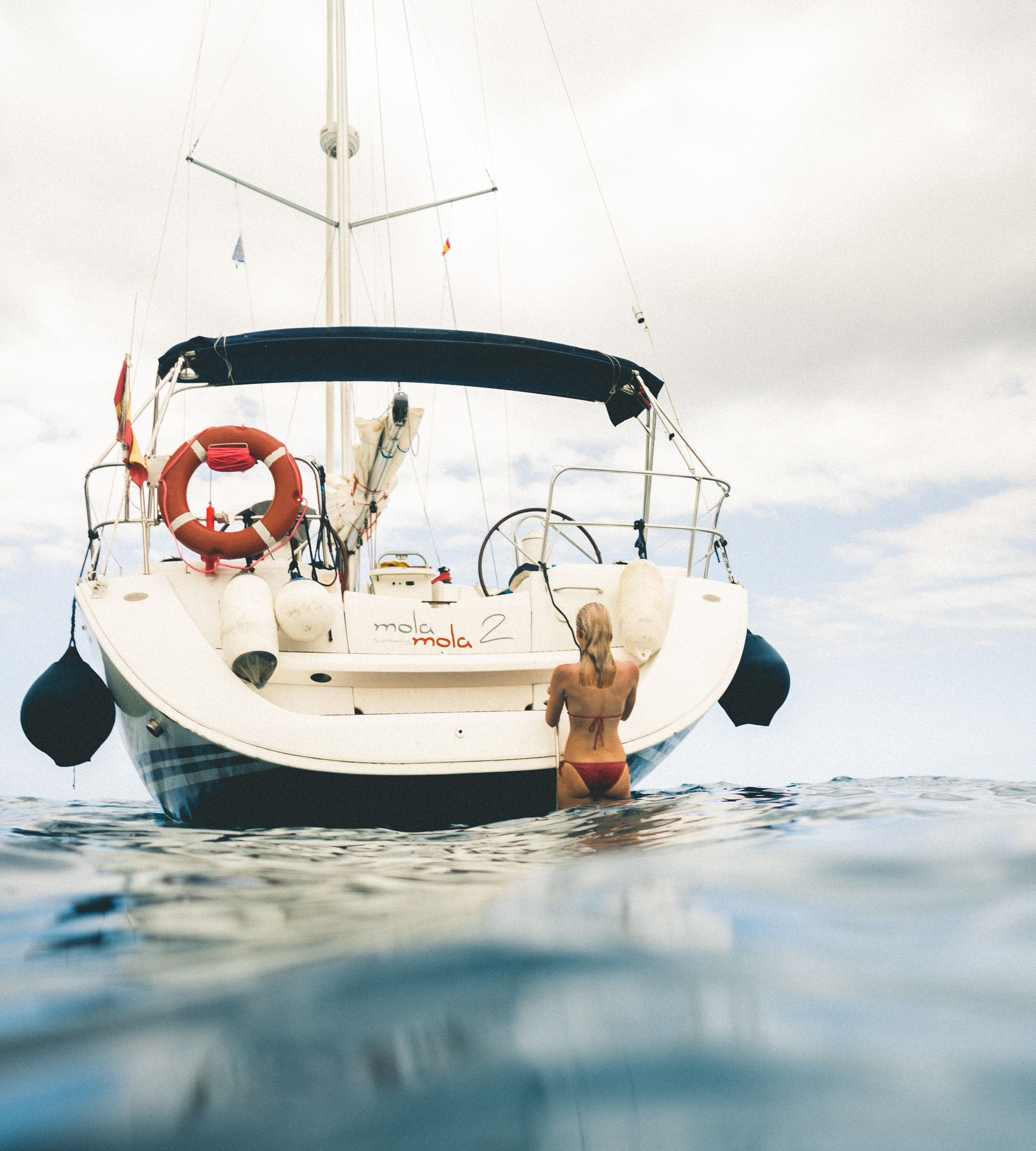 Boating in Tenerife, Canary Islands, Spain
