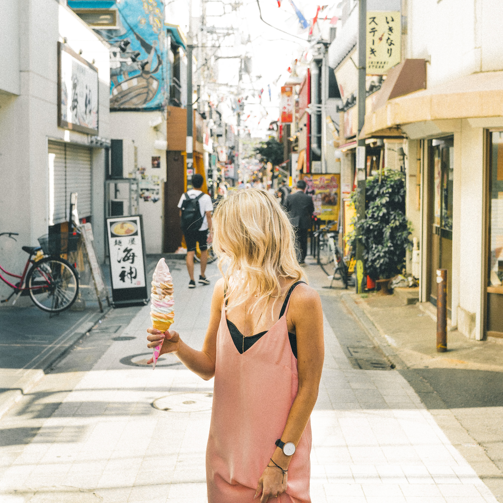 The Complete Tokyo Travel Guide | City Guides | Japan Travel Itinerary | Daily Chico 8 flavor ice cream cone | Neighborhood Travel Tips