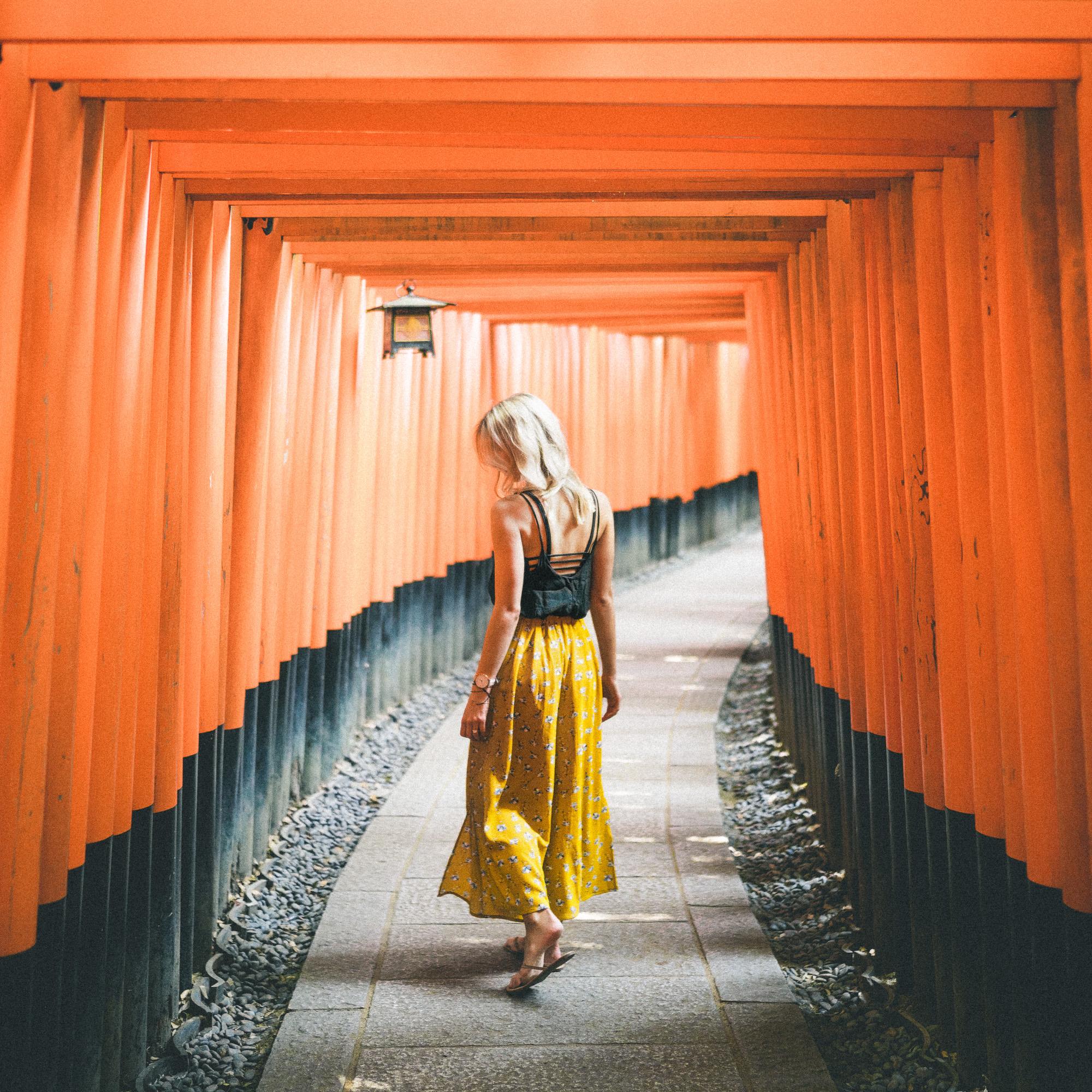 Fushimi-Inari Taisha Shrine in Kyoto, Japan | 24 Hour Guide to Kyoto, Japan | 1 Day Guide Kyoto | Kyoto City Guide | Kyoto Travel Itinerary