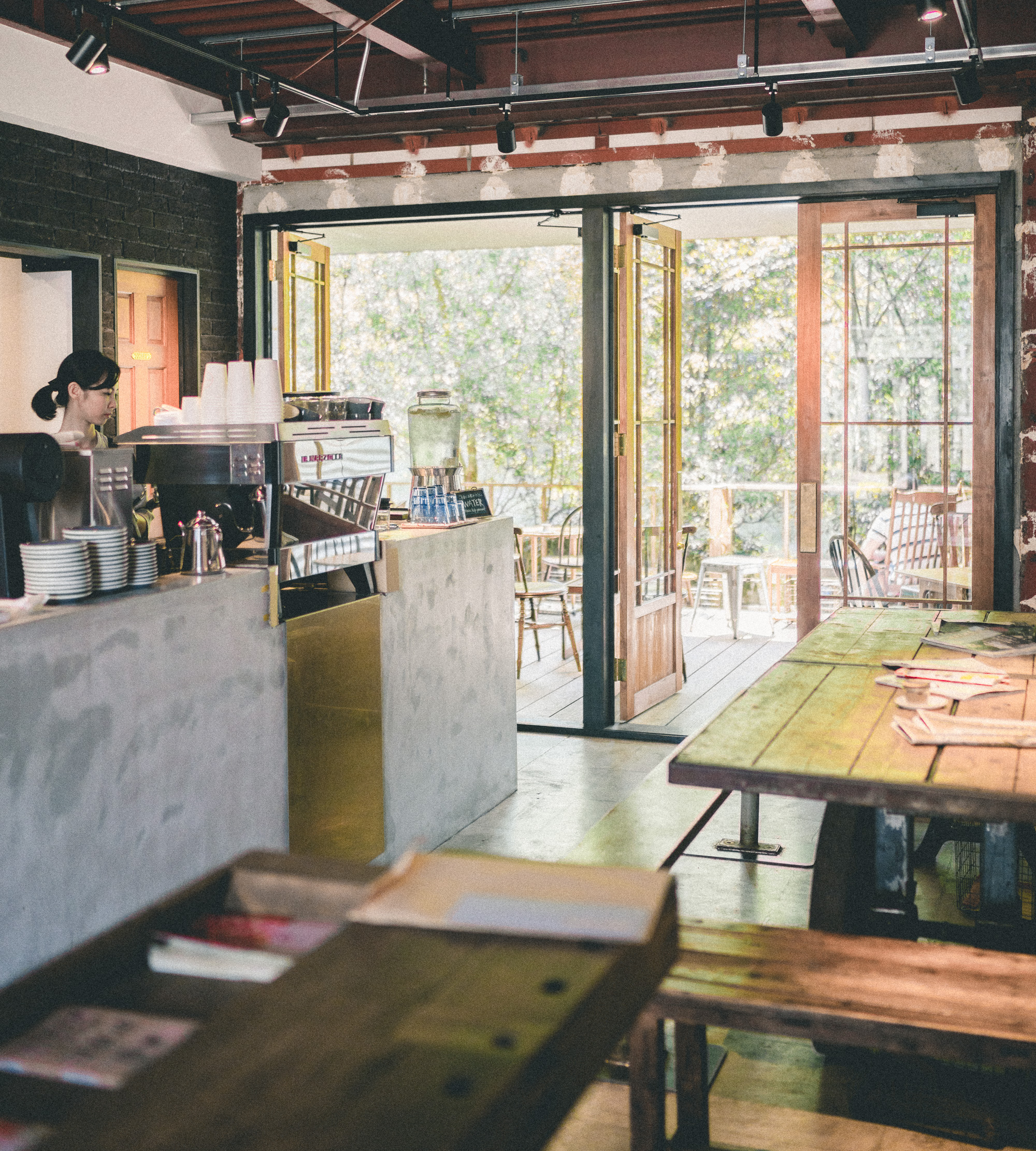 Vermillion Cafe for coffee and cake near Fushimi-Inari Taisha Shrine in Kyoto, Japan | 24 Hour Guide to Kyoto, Japan | 1 Day Guide Kyoto | Kyoto City Guide | Kyoto Travel Itinerary