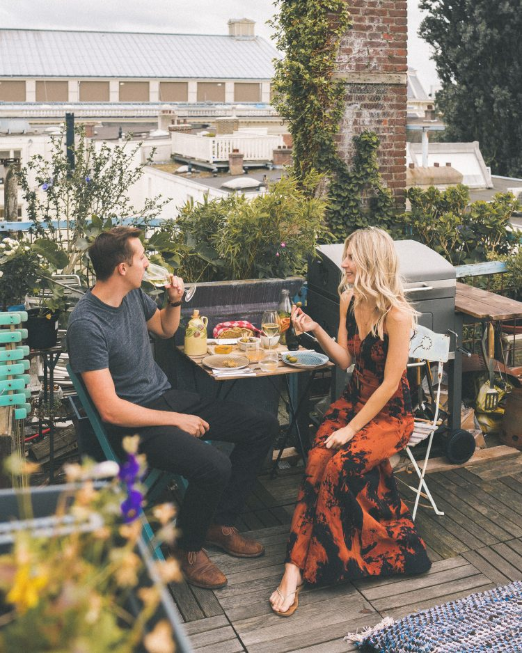 A Rooftop Dinner in Amsterdam, The Netherlands