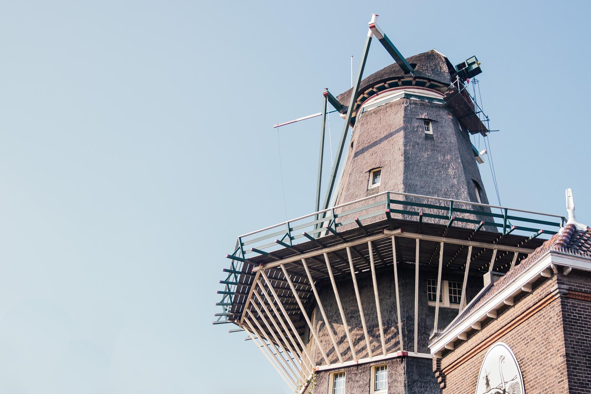 Windmill brewery brouwerij het ij in Amsterdam, Holland, The Netherlands