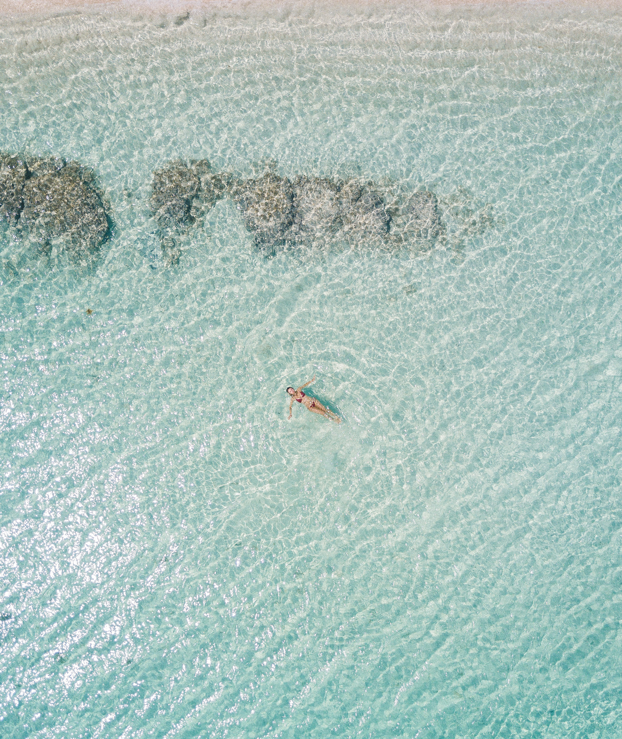Clear blue water, Saona Island, Dominican Republic | Clear Blue Water in Punta Cana | Tropical Paradise Beach Getaways in the Caribbean | Islands Near North America
