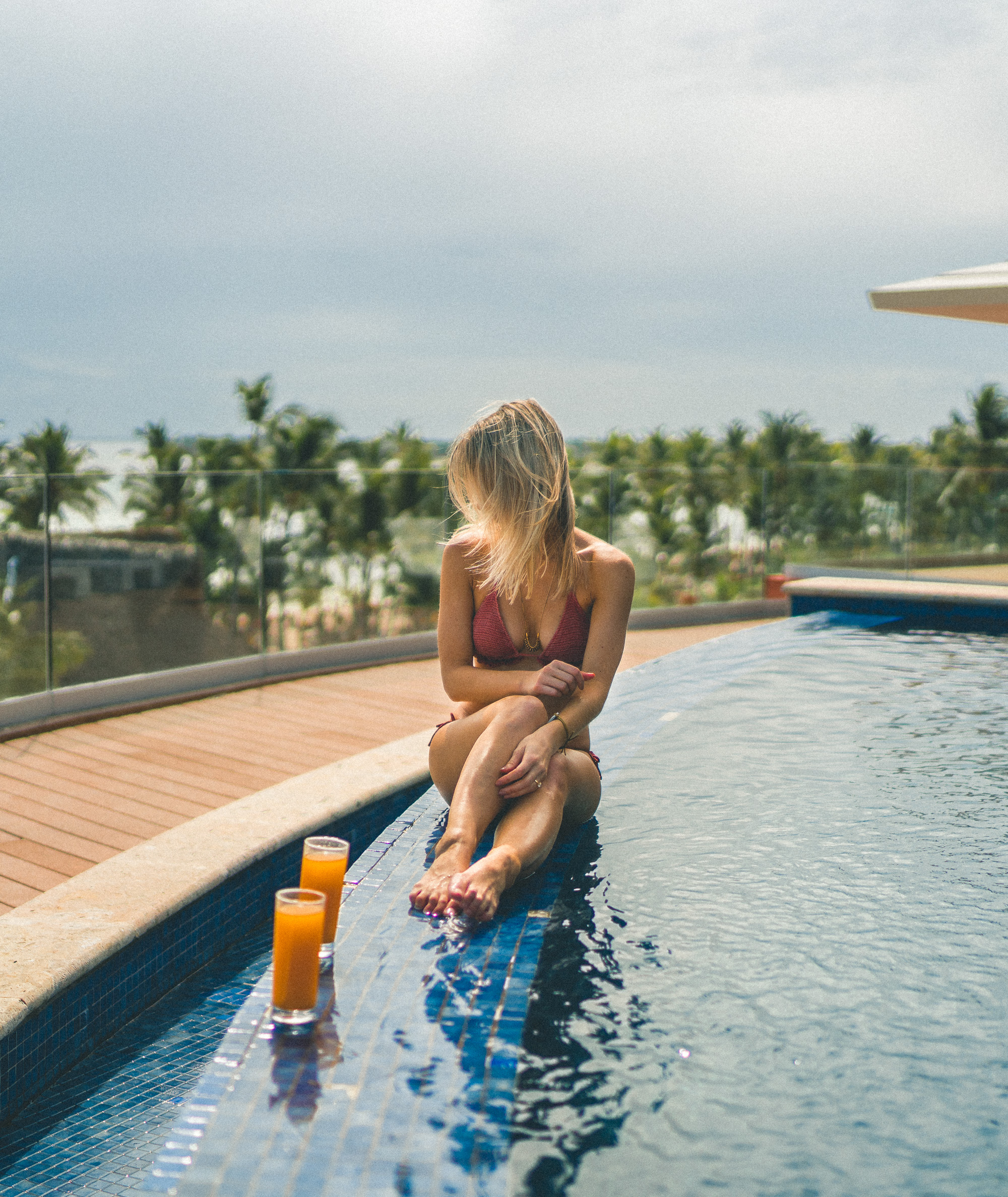 Pools in the Dominican Republic | Clear Blue Water in Punta Cana | Tropical Paradise Beach Getaways in the Caribbean | Islands Near North America