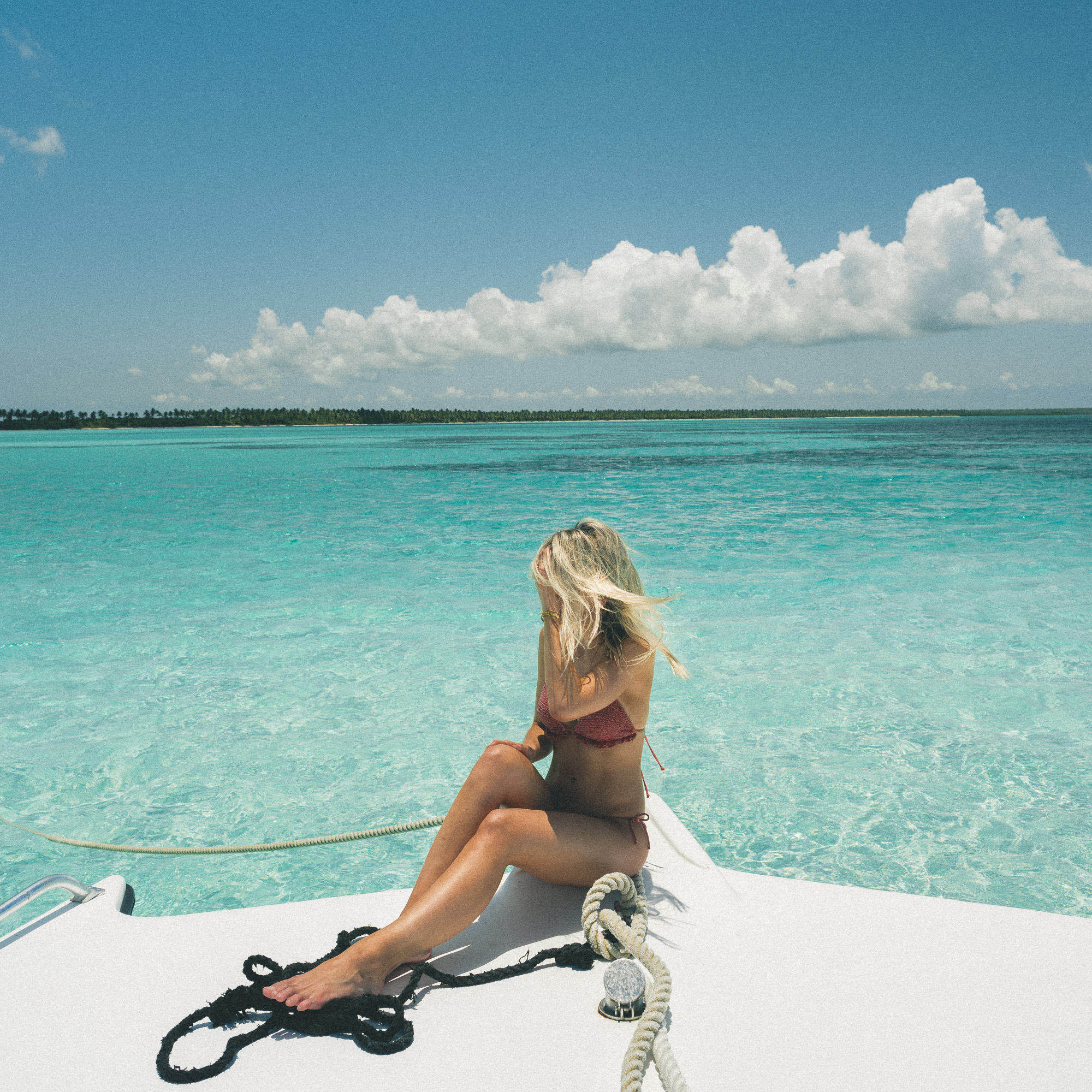 En route to Saona Island, Dominican Republic | Clear Blue Water in Punta Cana | Tropical Paradise Beach Getaways in the Caribbean | Islands Near North America