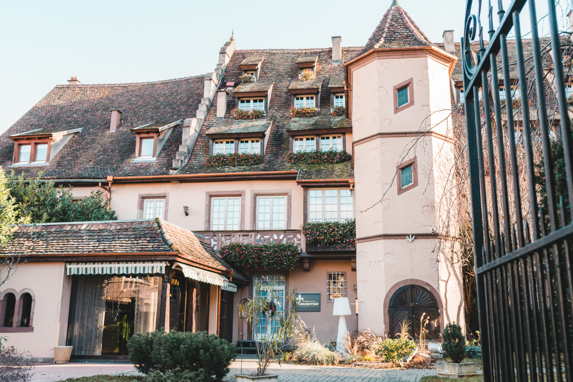 Hostellerie De La Pommerie French Hotel near Colmar and Strasbourg Christmas Markets