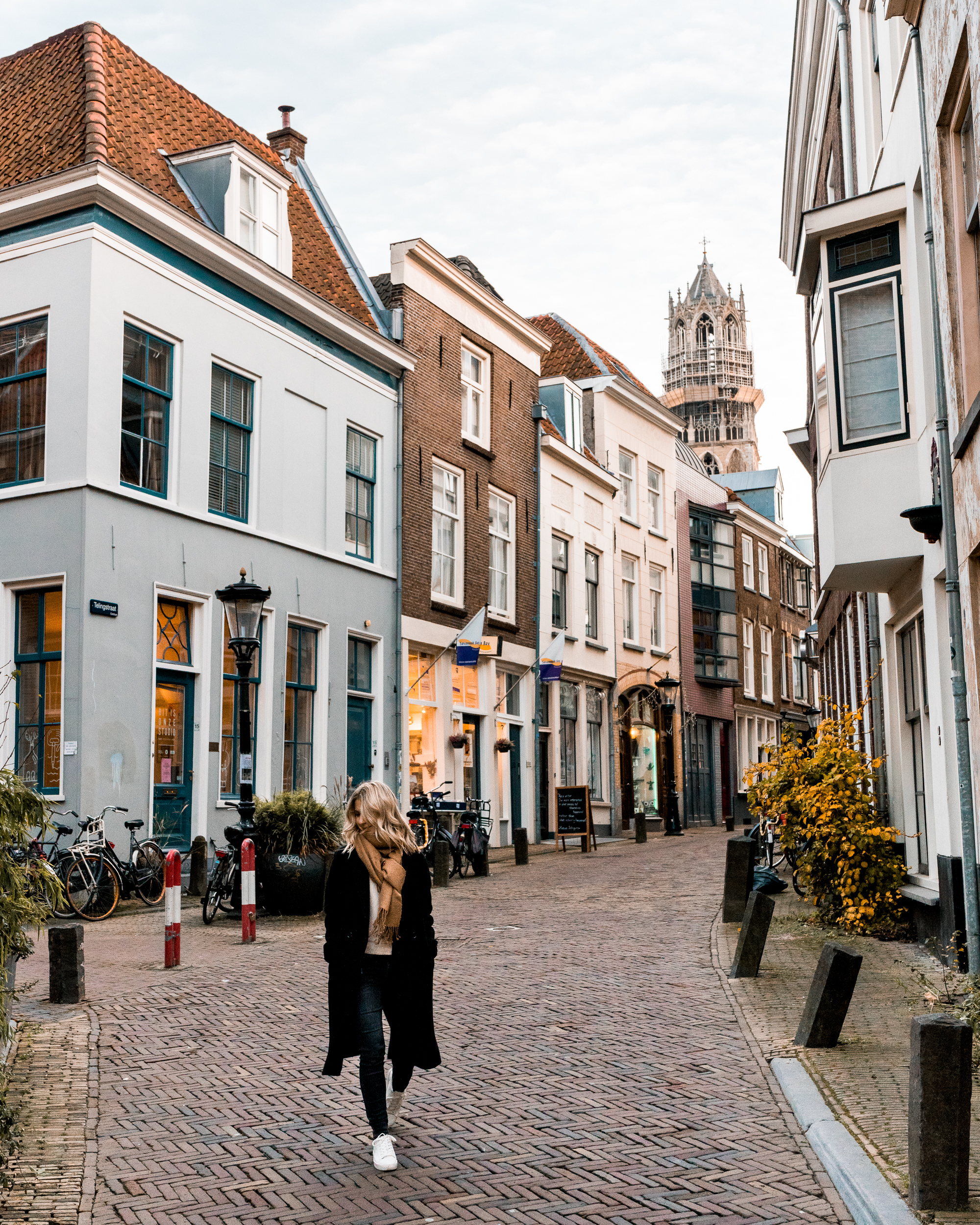 small streets of utrecht netherlands