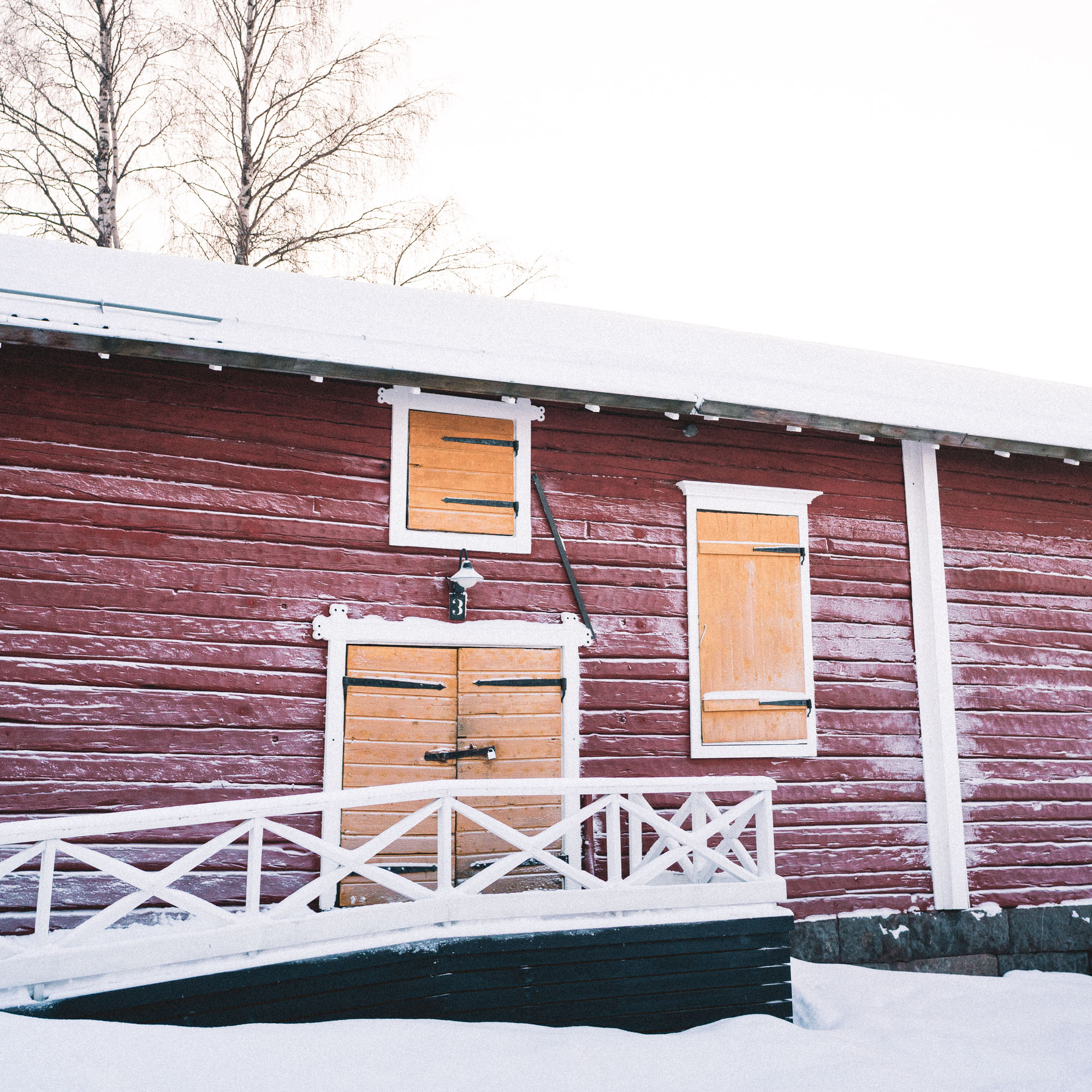 Santa's seaside office in kemi lapland finland