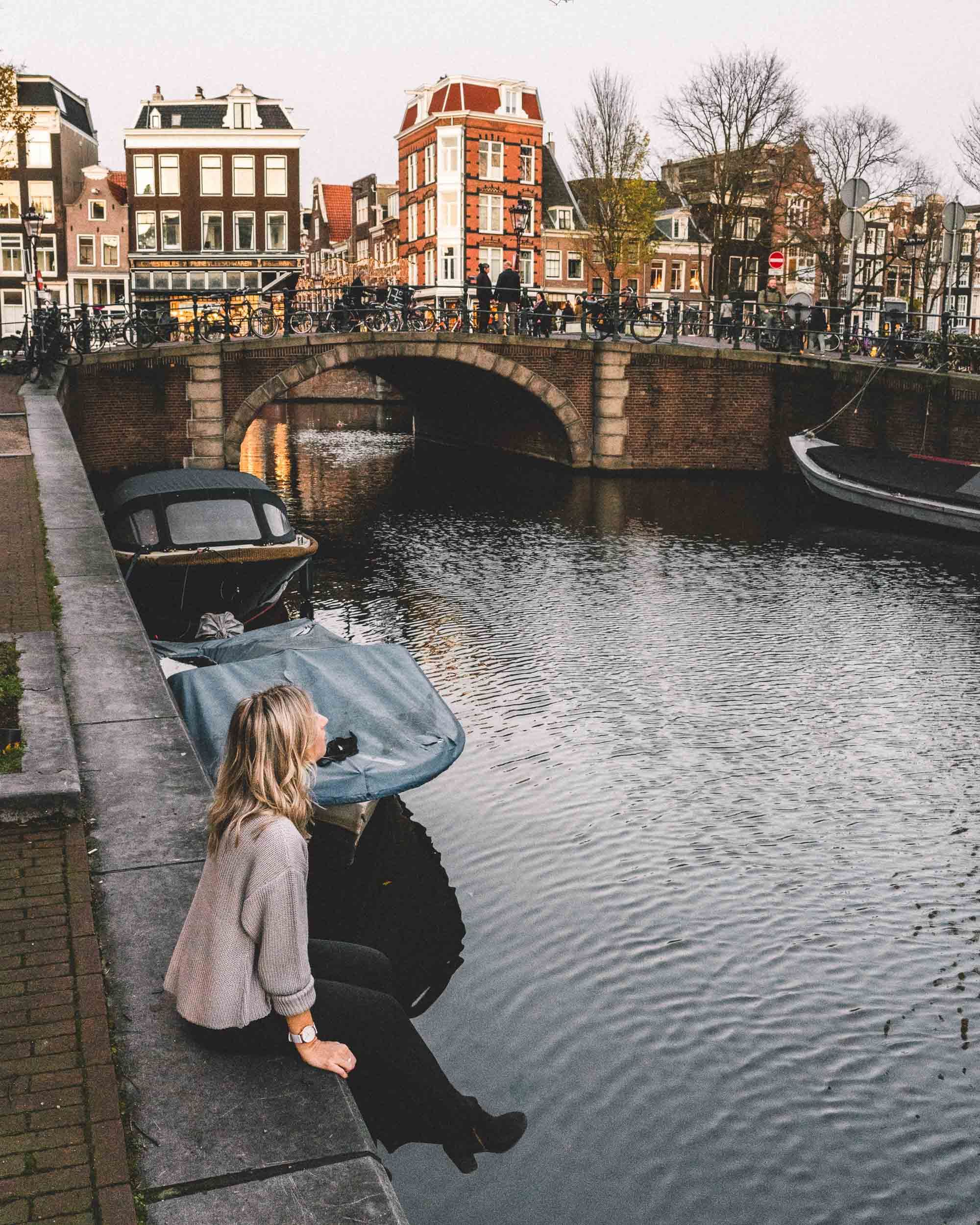 Selena Taylor Travel Blogger behind Find Us Lost in Amsterdam, The Netherlands