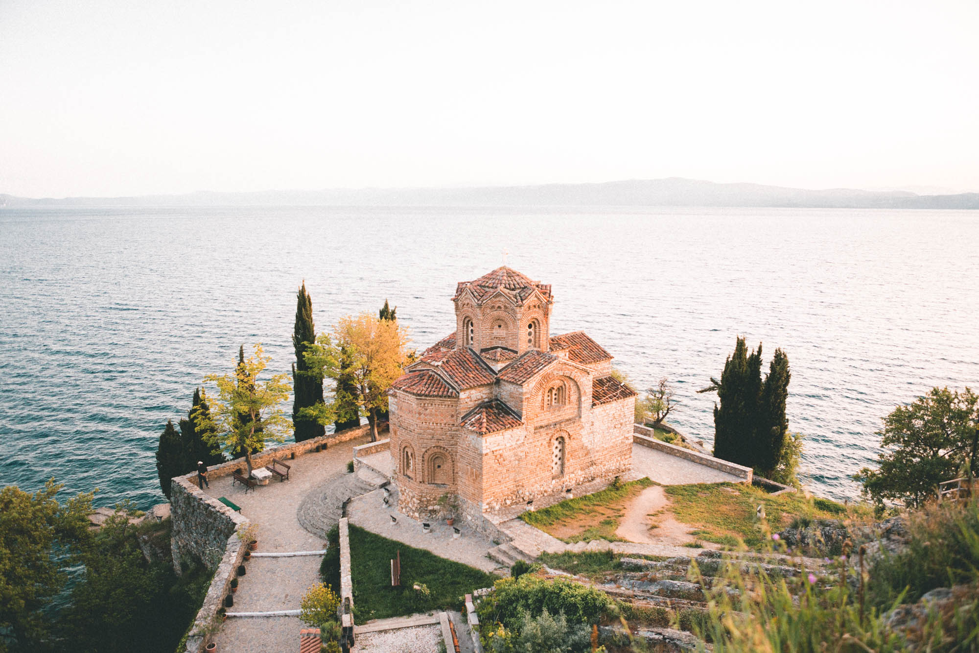 Church of St John in Lake Ohrid, Macedonia